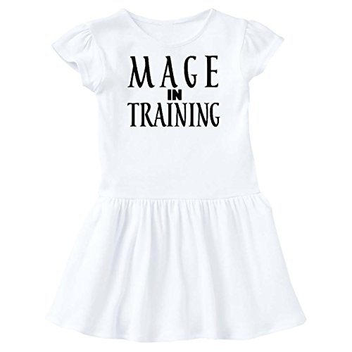 inktastic - Mage in Training Toddler Dress 2T White 26e61