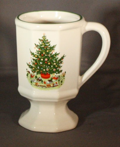 Christmas Heritage by Pfaltzgraff - Pedestal Mug