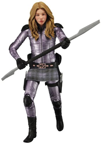 """NECA Series 2 Kick Ass 2 Hit Girl Unmasked 7"""" Scale Action Figure"""