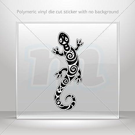 6x Lagarto Gecko Diseño Pegatinas de Vinilo Arte de Pared Calcomanía Decoración para el Hogar Decoración De Pared