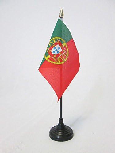 AZ FLAG Bandera de Mesa de Portugal 15x10cm - BANDERINA de ...