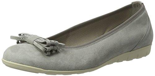 Gabor Shoes Fashion, Bailarinas para Mujer Gris (stone 19)