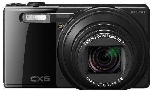Ricoh Cx6 Digital Camera Black