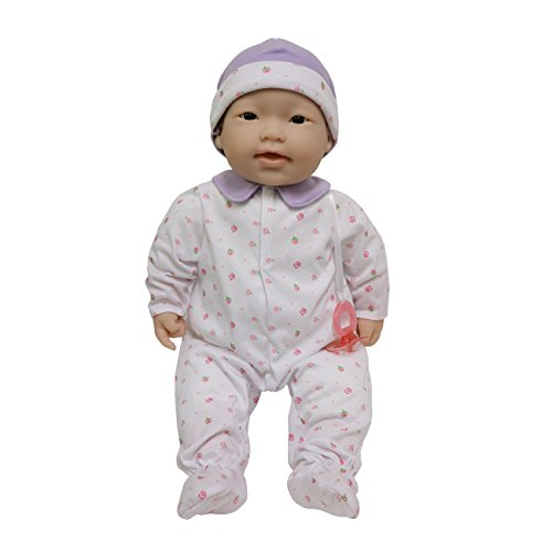 Asian Play Dolls (JC Toys, Asian La Baby 20-inch Soft Body Pink Play Doll - For Children 2 Years Or Older, Designed by Berenguer)