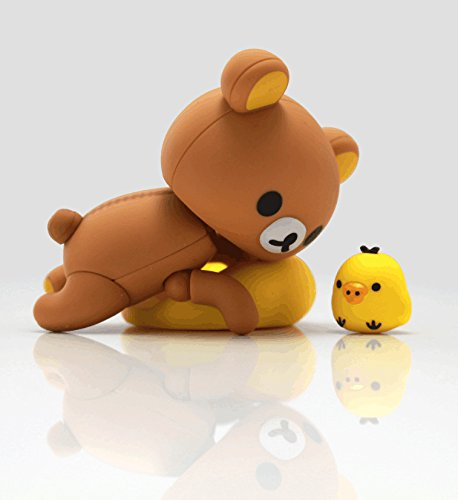 Amazon.com: Figure Complex Character Revoltech Rilakkuma PVC Action Figure Collectible Model: Toys & Games