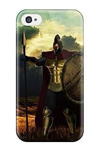 Excellent Design Pantheon Phone Case For Iphone 4/4s Premium Tpu Case