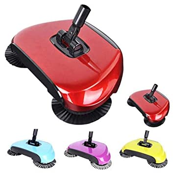Antique Buyer Sweep Drag All-in-One Household Hand Push Rotating Sweeping Broom, Room and Office Floor Sweeper Cleaner Dust Mop Set
