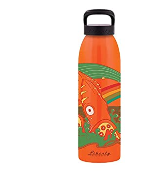 Made in USA Liberty Bottle Works 24552436SPBLK Liberty Bottleworks Calamari Aluminum Water Bottle