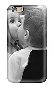 QtBZaBu10822XMxKK Faddish Sweet Children Friendship Kiss Case Cover For Iphone 6