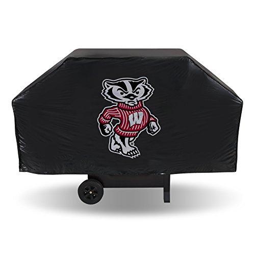 Wisconsin Badgers Grill - NCAA Wisconsin Badgers Vinyl Grill Cover