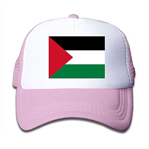 Futong Huaxia Iraqi Flag Boy & Girl Grid Baseball Caps Adjustable sunshade Hat For Children free shipping