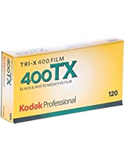 Kodak Professional Tri-X 400 Black and White Negative Film (120 Roll Film, 5-Pack) - 1153659