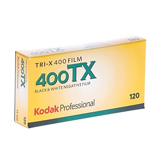 - kodak 115 3659 Tri-X 400 Professional 120 Black and White Film 5 Roll Propack
