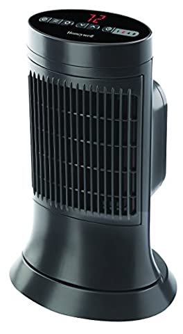Honeywell HCE311V Digital Ceramic Compact Tower Heater (Space Heater Office)