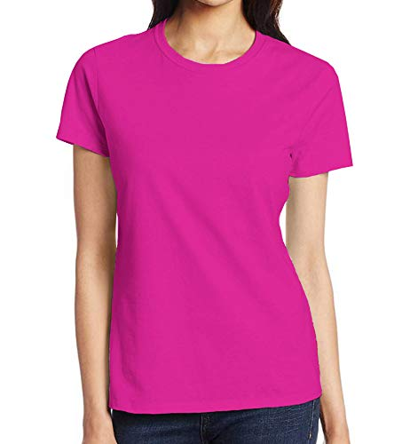 (Miracle(Tm) Neon Color Athletic Wicking T Shirt - Adult Pink Womens High Visibility Shirt (XS))