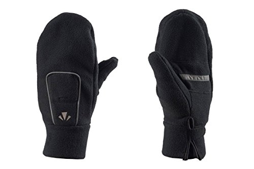 Price comparison product image RunLites USB Rechargeable LED Lighted Mittens (Small, Black)