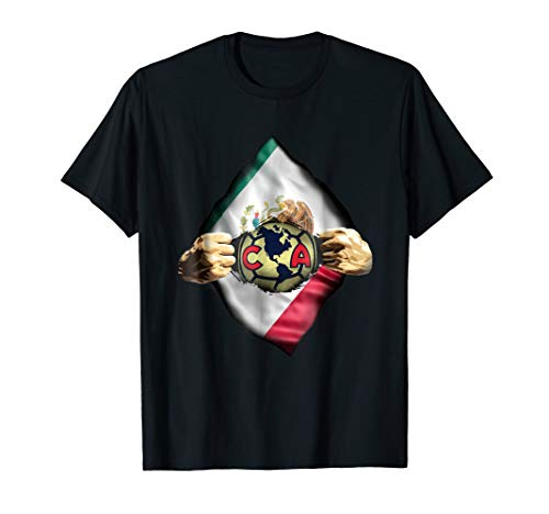 Mexico America Shirt Heartbeat Love Club Funny Fan- America