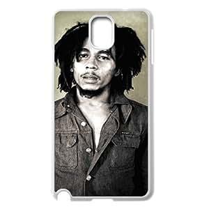 I-Cu-Le Customized Print Bob Marley Hard Skin Case Compatible For Samsung Galaxy Note 3 N9000