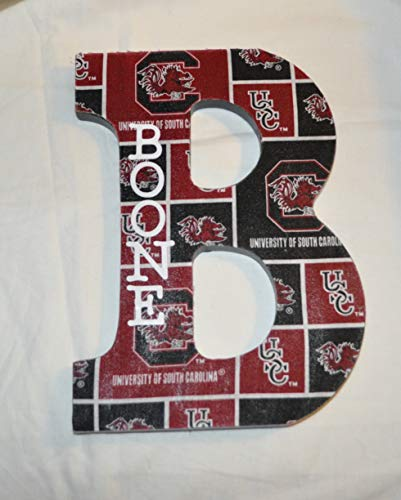 (University Of South Carolina Wooden Letters Wall Décor)