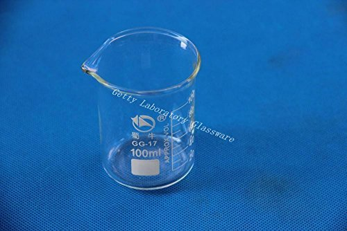 100 mL Lab Glass Beaker, with wide mouth, Pyrex material Beijing Getty Laboratory Glassware Co.