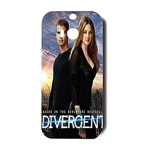 HTC One M8 Case Divergent Action-Adventure 3D Movie Style Protective Cellphone Case