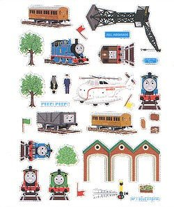 Thomas And Friends Self Stick Wall Appliques