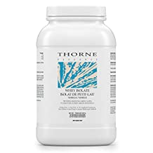 Thorne Research - Whey Protein Isolate (Vanilla Flavor) - Easy-to-Digest Whey Protein Isolate Powder - NSF Certified for Sport - 807 g