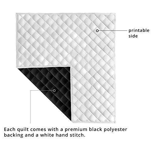 VTH Global Jews Jewish Quilt Pattern Blanket Comforters with Reversible Cotton King Queen Full Twin Size Quilted Romantic Birthday Wedding for Wife from Husband Kids