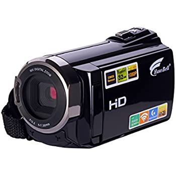 Amazon.com : Camcorder, Hausbell 302S FHD Camcorder with Night ...
