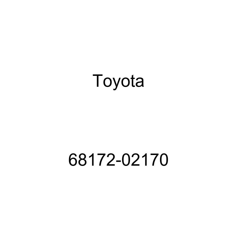 TOYOTA Genuine 68172-02170 Door Glass Weatherstrip