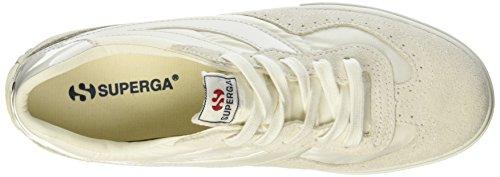 Superga 2832-NYLU Zapatillas de ante, Unisex - Adulto Weiß