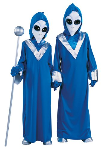 Child Space Alien Costume X-Large (Space Alien Costume)