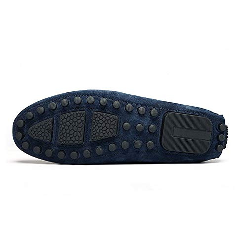 blu Mocassino Blu guida 0cm da Bullock kaki rosso da gommino in 27 vera misure 0cm Scarpe uomo Mocassino barca scamosciata da gommino Hcwtx nero Scarpe pelle 24 con nappe B04fq4