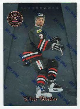 Chris Chelios (Hockey Card) 1997-98 Pinnacle Certified # 74 ()