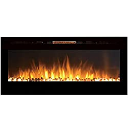 Regal Flame Fusion 50Ó Built-in Ventless Recessed Wall Mounted Electric Fireplace Better than Wood Fireplaces, Gas Logs, Inserts, Log Sets, Gas, Space Heaters, Propane by Regal Flame