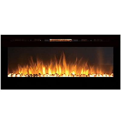 Regal Flame Fusion 50Ó Built-in Ventless Recessed Wall Mounted Electric Fireplace Better Than Wood Fireplaces, Gas Logs, Inserts, Log Sets, Gas, Space Heaters, Propane