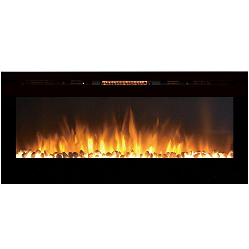 gas fireplace in wall - 4