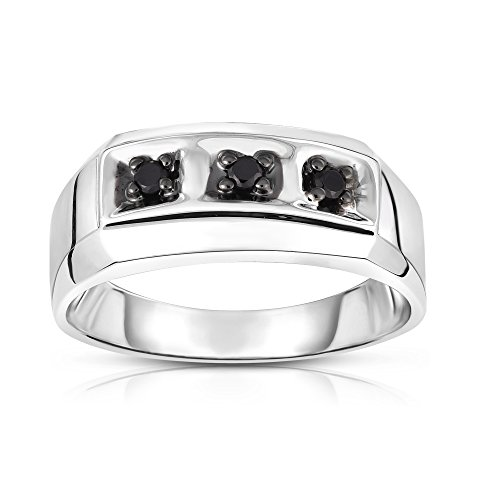 0.14 Ct Mens Diamond - 4