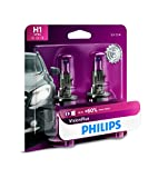 2010 sonata headlight - Philips H1 VisionPlus Upgrade Headlight Bulb, (Pack of 2)