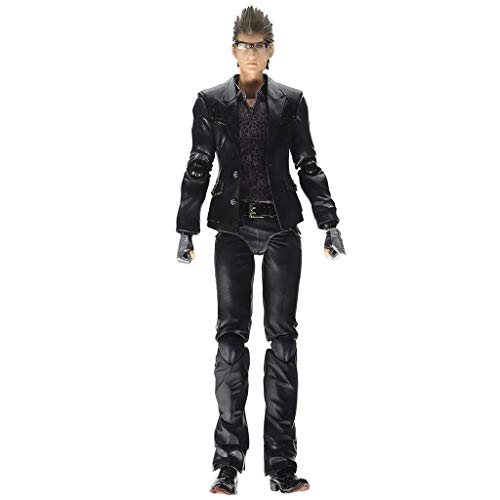 Siyushop Final Fantasy: Ignis Play Arts Kai Action Figure - Equipped with Weapons and Replaceable Hands - High 24CM