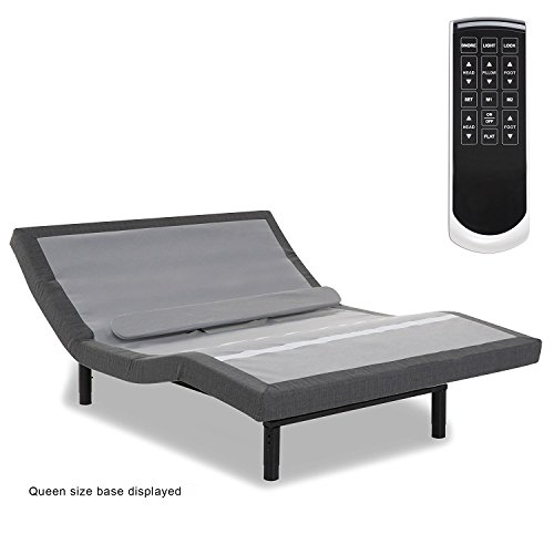 2018 Leggett & Platt Prodigy 2.0+ Split King Set (with Lumbar Support) and 12 inch US Made Halcyon Foam Mattresses (Manufactured by GelFoamBed) For Sale