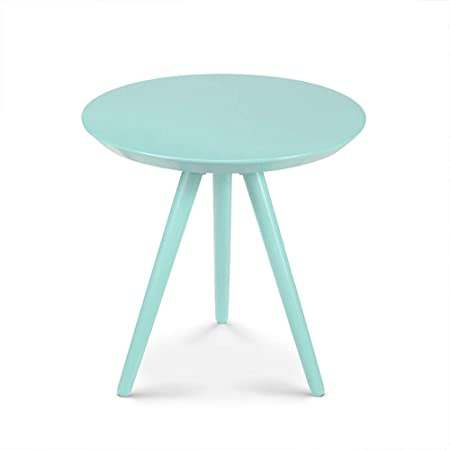 Xbbz Simple Round Small Coffee Table Modern Living Room Bedroom