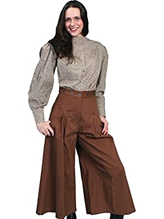 Vintage High Waisted Trousers, Sailor Pants, Jeans Brushed Twill Riding Pants  AT vintagedancer.com