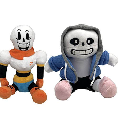 2Pcs/Lot Anime 22-25Cm Undertale Plush Toys Undertale Papyrus Asriel Toriel Stuffed Plush Toys Doll For Kids Childr Must Have Toys Funny Gifts The Favourite Toys 5T Superhero Girls Unbox Dolls by YOYOTOY