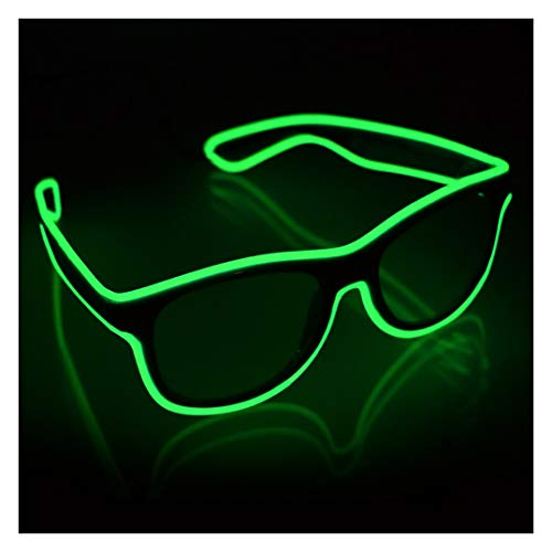 GlowCity Light Up Sunglasses-Lime Green