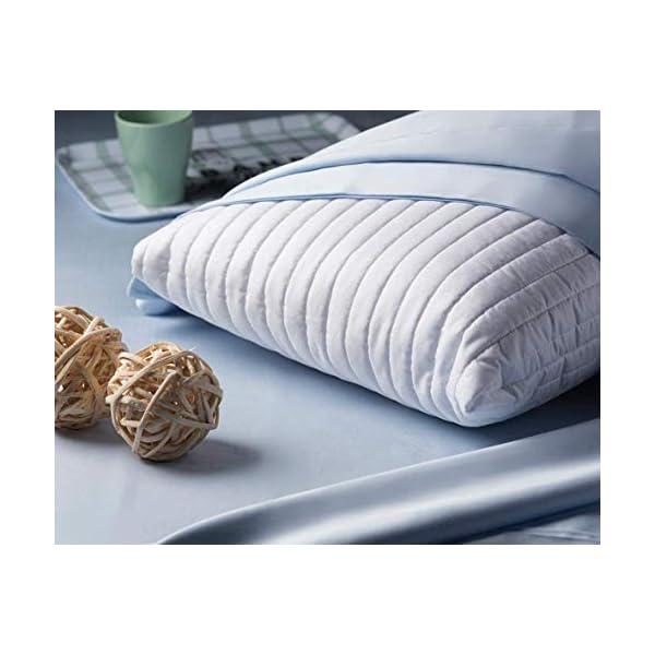 EVERGREENWEB - Materasso Singolo 80x190 in Memory Foam Alto 22 cm con Cuscino Cervicale Gratis Lastra Massaggiante… 7 spesavip