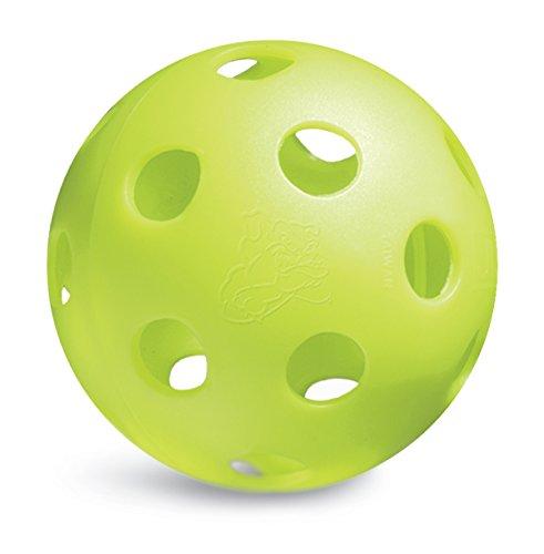 (Jugs Bulldog Poly Softballs - Game-Ball Yellow-1 Dozen)