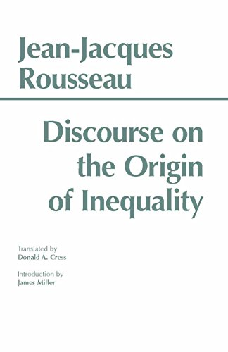 essay on the discourse of inequality In the discourse on the origin of inequality,  discourse on the origin of inequality - rousseau's conception of private property  more essay examples on.