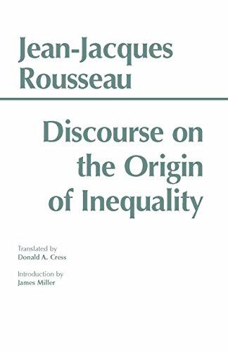Discourse on the Origin of Inequality (Hackett Classics)