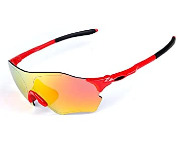 Wfkjj Deportes al Aire Libre Ciclismo, Gafas de Sol polarizadas, Hombres y Mujeres Montar